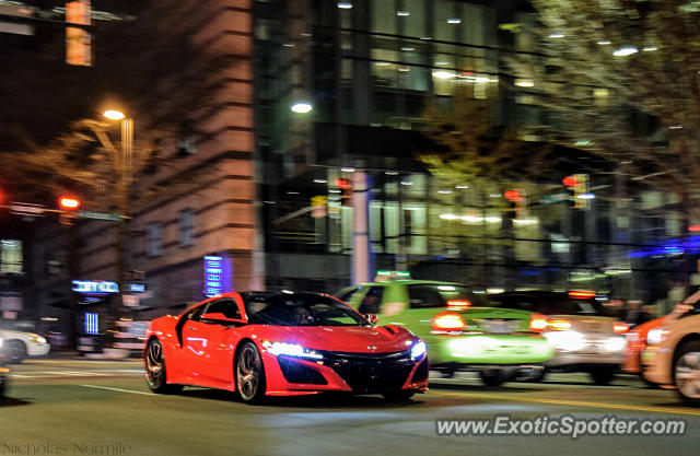 Acura NSX spotted in Charlotte, North Carolina