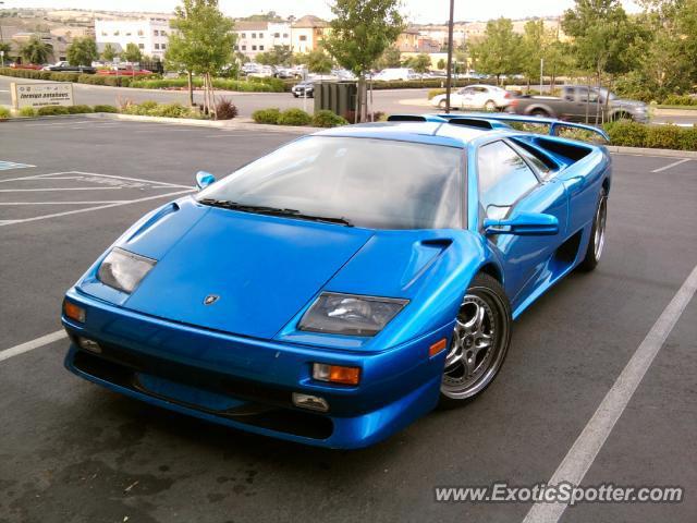 Lamborghini Diablo Spotted In El Dorado Hills California On 06 15 2010