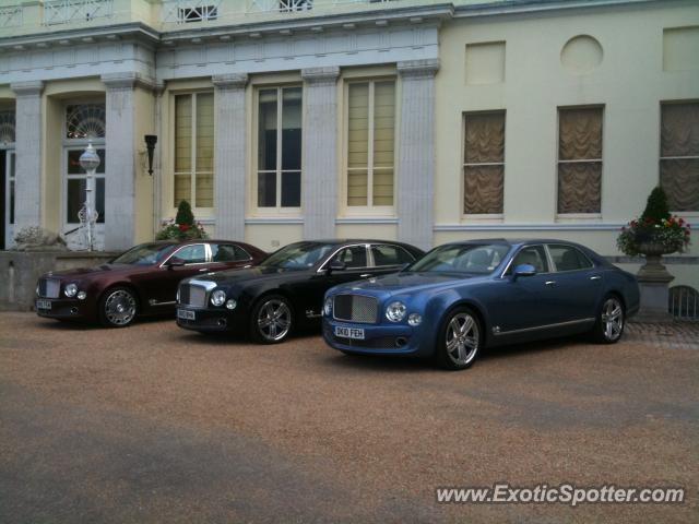 Bentley Mulsanne spotted in Buckinghamshire London United