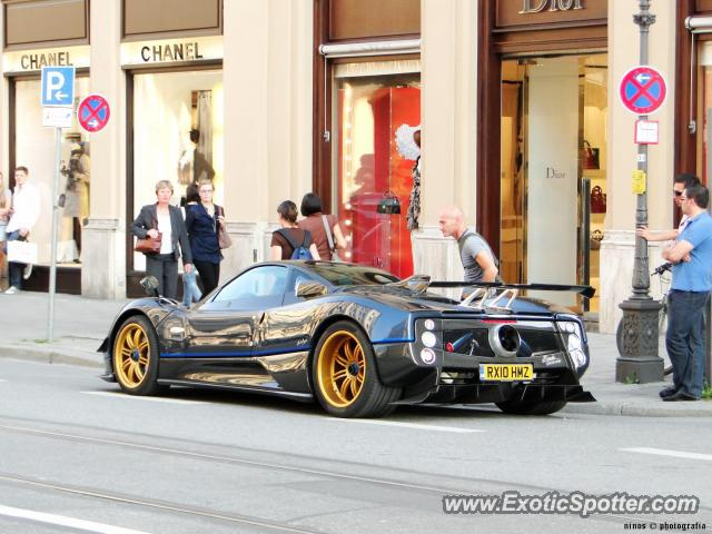Pagani Zonda spotted in Munich, Germany