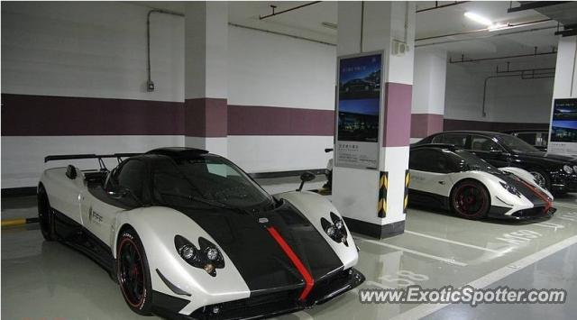 Pagani Zonda spotted in BEIJING, China