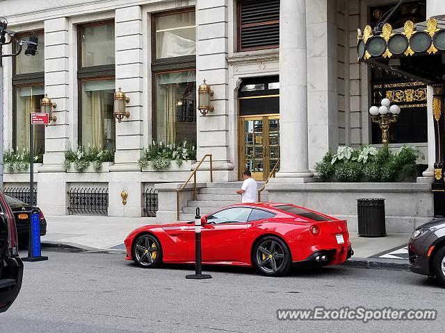 Ferrari F12 Spotted In Manhattan New York On 03 26 2018