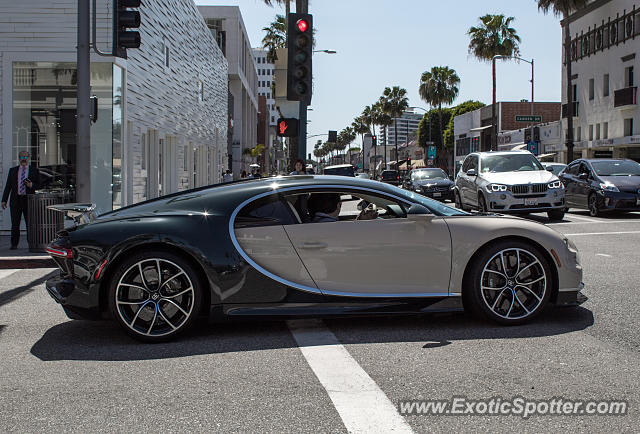 Bugatti Chiron spotted in Beverly Hills, California