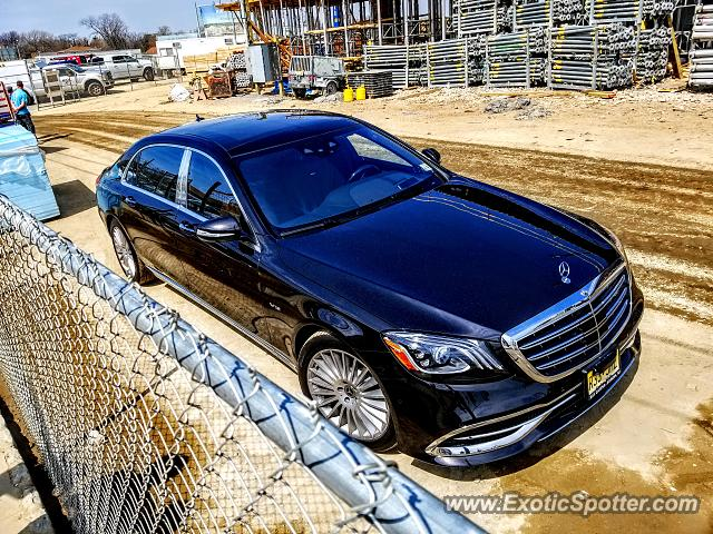 Mercedes Maybach spotted in Long Branch, New Jersey
