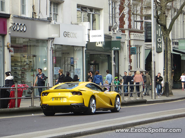 Ferrari 812 Superfast spotted in London, United Kingdom