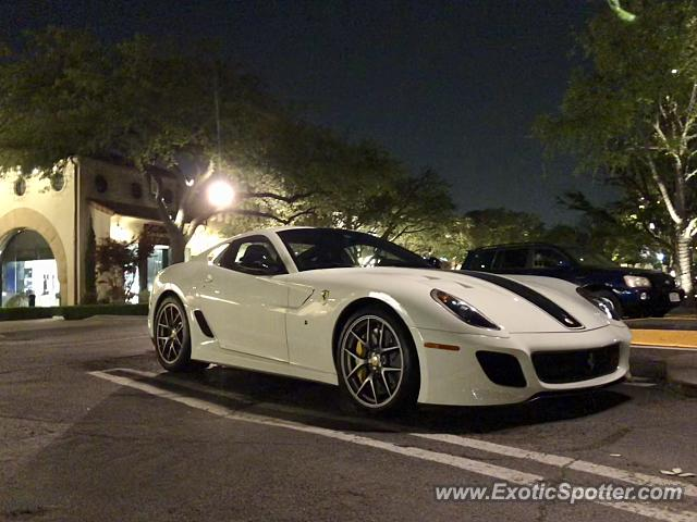 Ferrari 599GTO spotted in Dallas, Texas