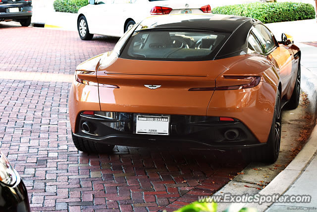 Aston Martin DB11 spotted in Palm B. Gardens, Florida