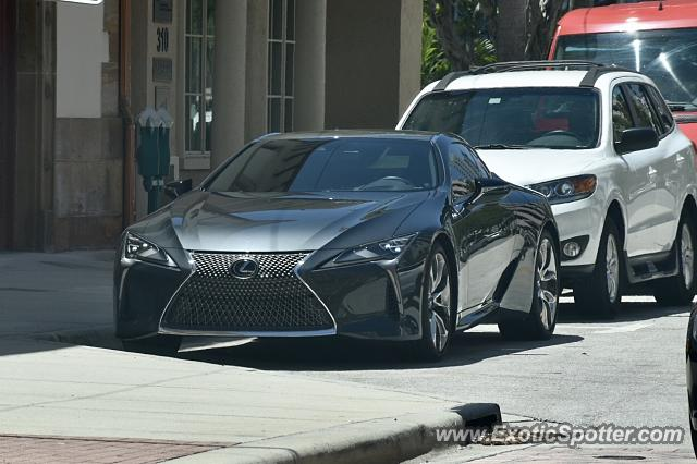 Lexus LC 500 Spotted In West Palm Beach, Florida