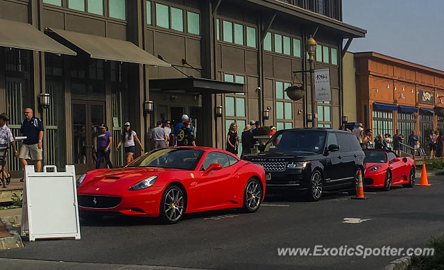 Ferrari California spotted in Long Branch, New Jersey