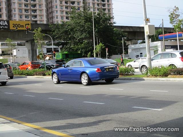Rolls-Royce Ghost spotted in Kuala lumpur, Malaysia on 04 ...