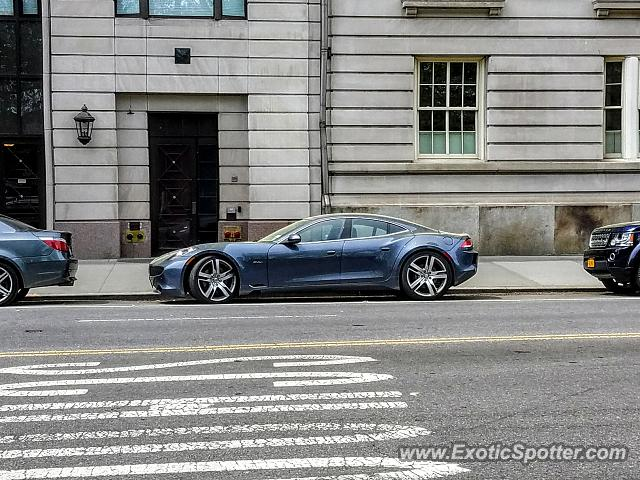 Fisker Karma spotted in Manhattan, New York
