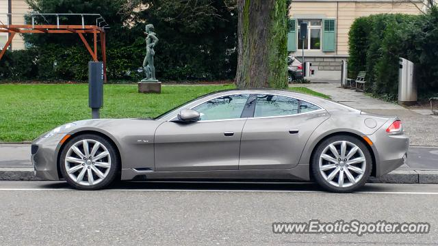Fisker Karma spotted in Winterthur, Switzerland