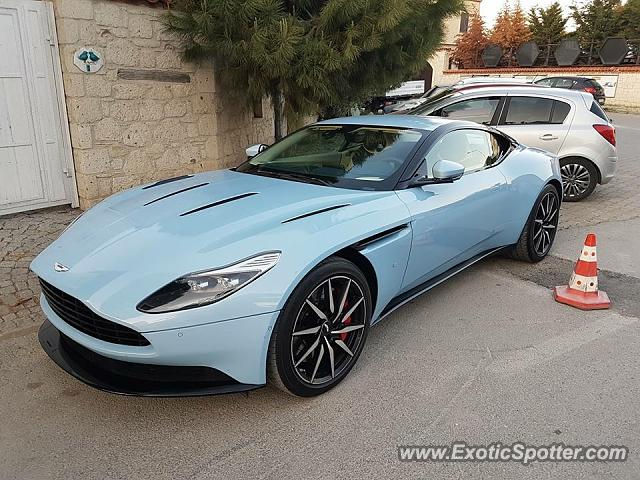 Aston Martin DB11 spotted in Izmir, Turkey