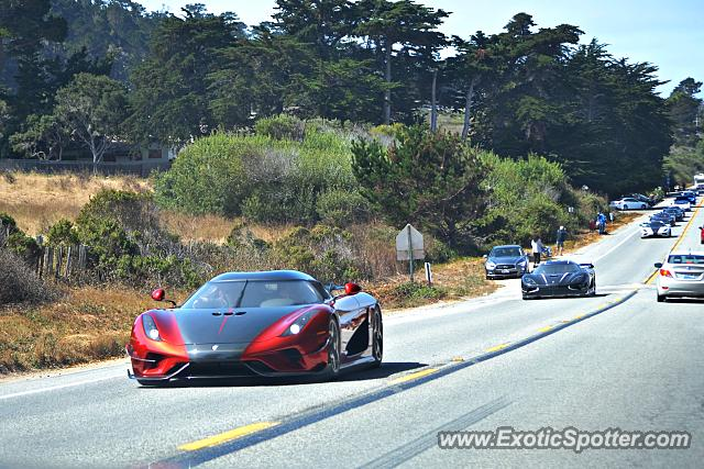 Koenigsegg Regera spotted in Big Sur, California