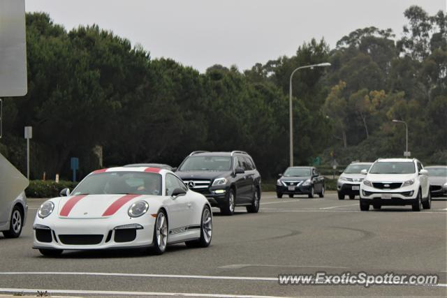 Porsche 911R spotted in Newport Beach, California
