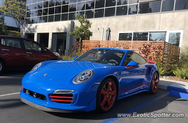 Porsche 911 Turbo spotted in Del Mar, California