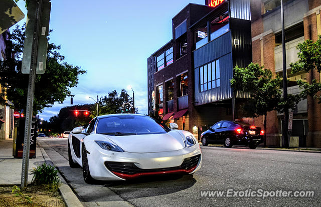 Mclaren MP4-12C spotted in Raleigh, North Carolina