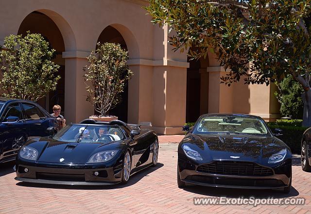 Aston Martin DB Spotted In Newport Beach California On - Newport beach aston martin