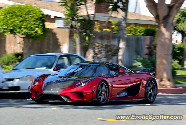 Koenigsegg Regera spotted in Orange County, California