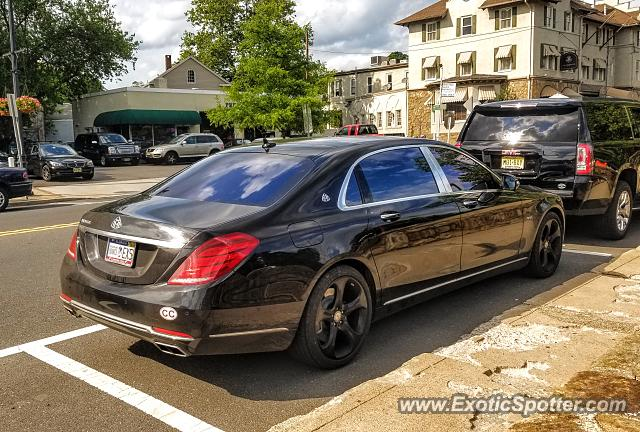 Mercedes Maybach spotted in Bernardsville, New Jersey