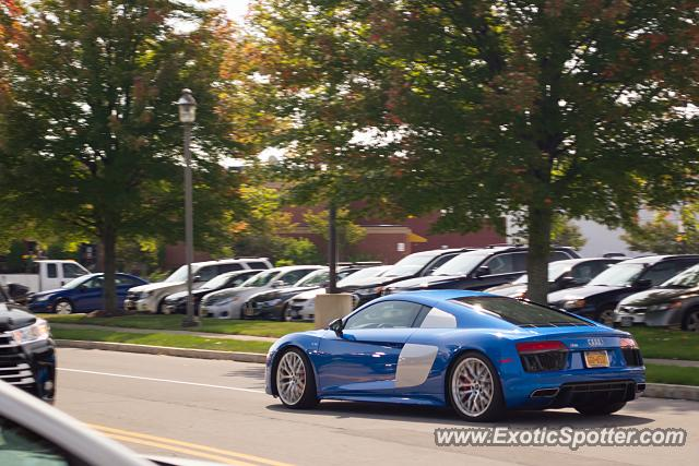 Audi R8 spotted in Pittsford, New York
