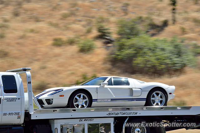Ford GT spotted in Los Angeles, California