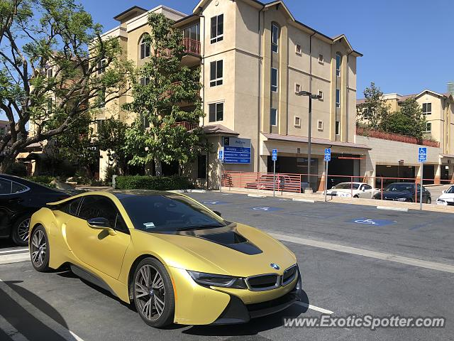 BMW I8 spotted in Los Angeles, California