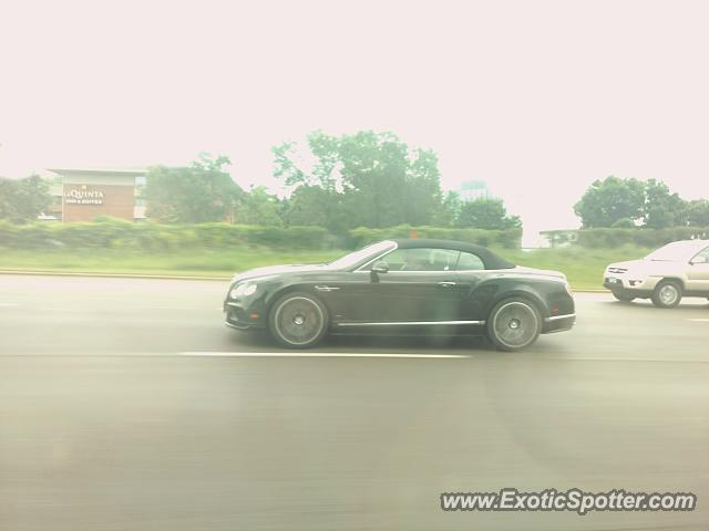 Bentley Continental spotted in Plymouth, Minnesota