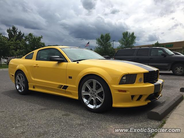 Saleen S281 spotted in Bozeman, Montana