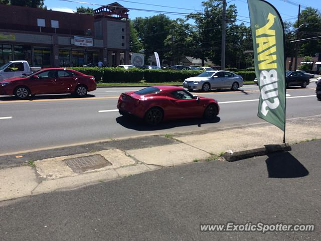 Alfa Romeo 4C spotted in Plainfield, New Jersey