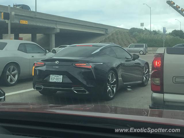 Lexus LC 500 spotted in Dallas, Texas