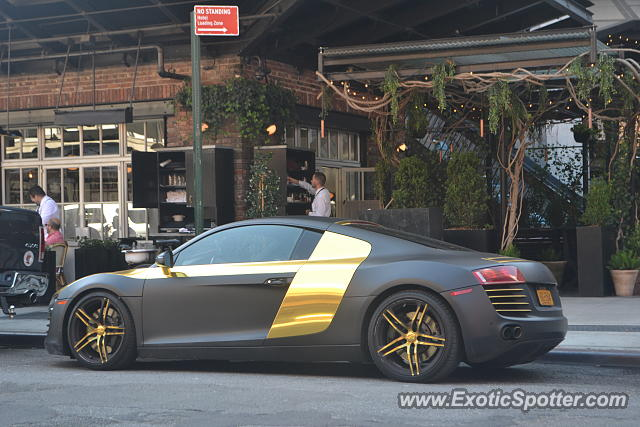 Audi R8 spotted in Manhattan, New York