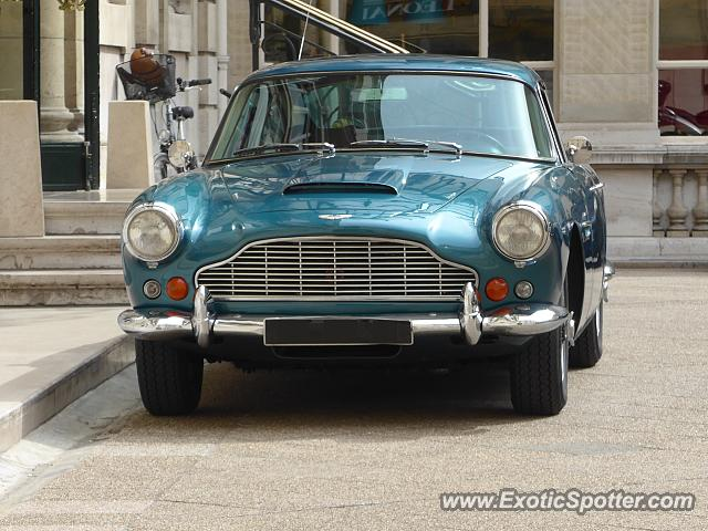 Aston Martin DB4 spotted in Paris, France