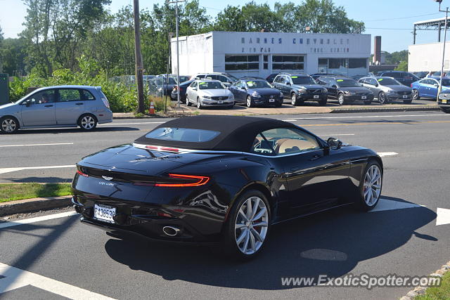 aston martin db11 spotted in summit, new jersey on 06/29/2018