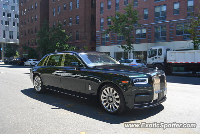 Rolls-Royce Phantom spotted in Manhattan, New York