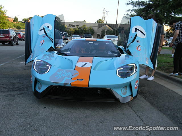 Ford GT spotted in Knoxville, Tennessee