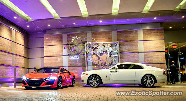 Rolls-Royce Wraith spotted in Charlotte, North Carolina