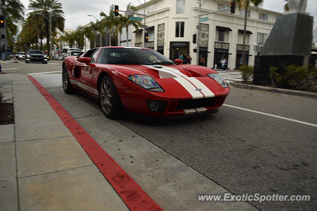 Ford GT spotted in Beverly Hills, California