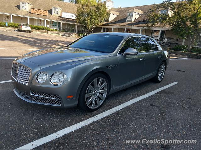 Bentley Flying Spur spotted in Wayzata, Minnesota