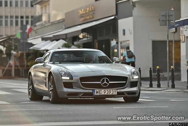 Mercedes Sls Amg Spotted In Warsaw Poland On 07 24 2018