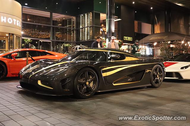 Koenigsegg Agera R spotted in Auckland, New Zealand