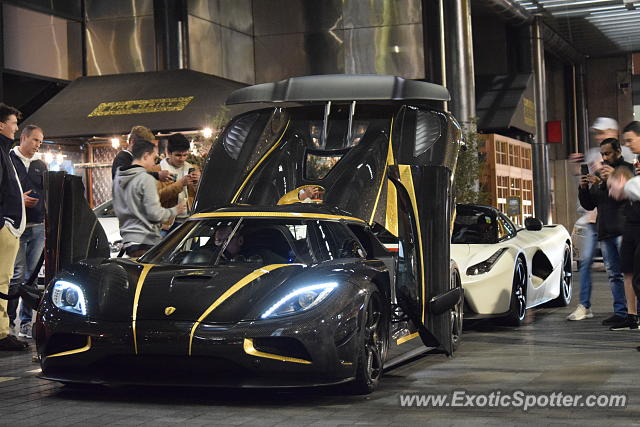 Koenigsegg Agera spotted in Auckland, New Zealand