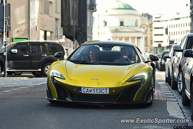 Mclaren 675LT spotted in Warsaw, Poland