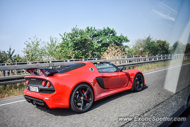 Lotus Exige spotted in Highway, Germany
