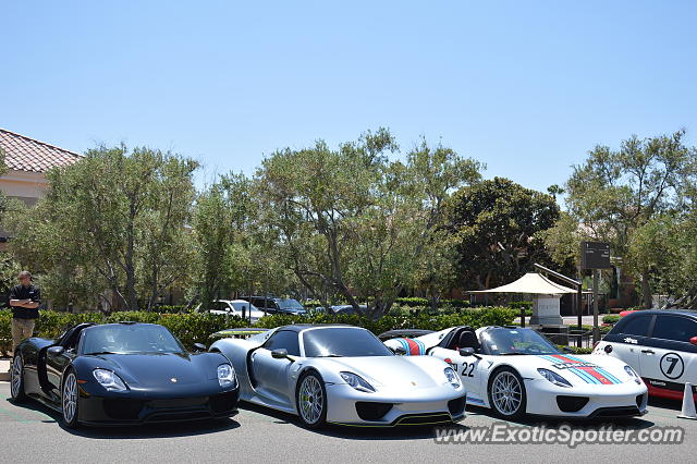 Porsche Newport Beach >> Porsche 918 Spyder Spotted In Newport Beach California On