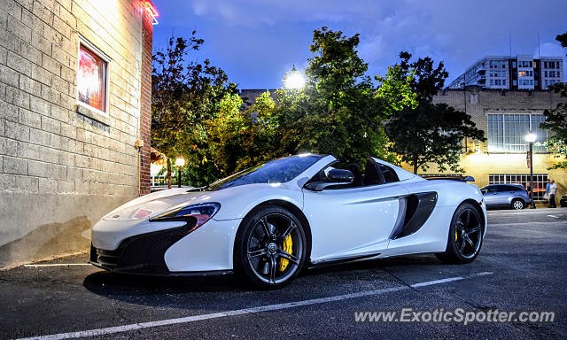 Mclaren 650S spotted in Raleigh, North Carolina