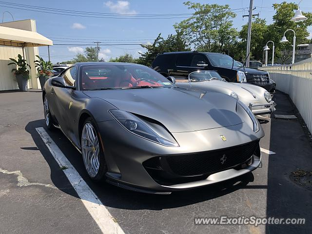Ferrari 812 Superfast spotted in Sag Harbor, New York