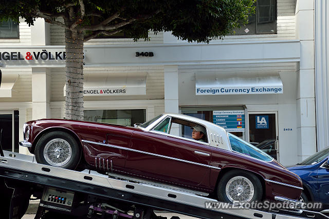 Ferrari 375 spotted in Beverly Hills, California