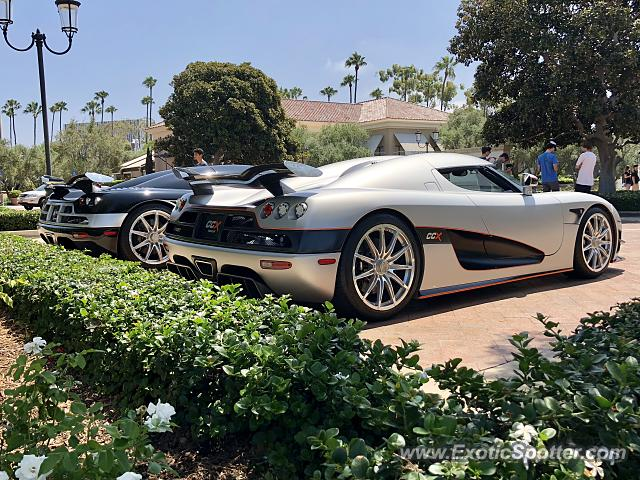 Koenigsegg CCX spotted in Newport Beach, California
