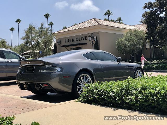 Aston Martin DBS Spotted In Newport Beach California On - Newport beach aston martin